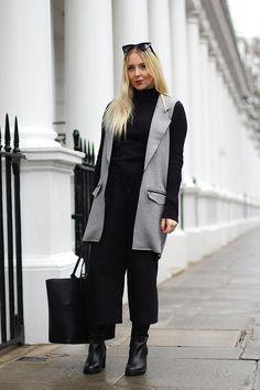 SLEEVELESS PONTE JACKET   Women's Look   ASOS Fashion Finder