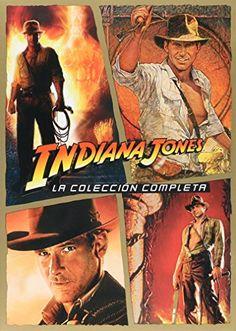 Indiana Jones La Coleccion Completa Edicion En Espanol Region 4 @ niftywarehouse.com #NiftyWarehouse #IndianaJones #GeorgeLucas #HarrisonFord #Movies