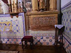 Mosaico del altar mayor.