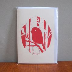 Cute Handmade Card-positive/negative space