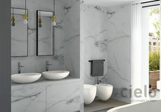 Likes hand sensor faucet and shape of basin. On top washbasin 60 colored Talco Le Giare - Wash basin colored bathroom Ceramica Cielo Bathroom Colors, Small Bathroom, Bathroom Ideas, Bathroom Repair, Washbasin Design, Keramik Design, Bathroom Installation, Eclectic Furniture, Complete Bathrooms