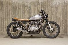 Kawasaki Brat style
