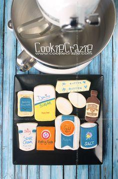 CookieCrazieBasics: Sugar Cookie Recipe (Update)