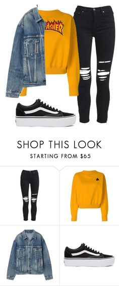 """""""Untitled #61"""" by issastyle13 on Polyvore featuring AMIRI, Étoile Isabel Marant, Balenciaga and Vans"""