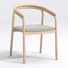 Redonda Wood Upholstered Dining Chair | Crate and Barrel Bentwood Chairs, Oak Dining Table, Modern Dining Chairs, Kitchen Chairs, Upholstered Dining Chairs, Dining Room Chairs, Round Dining, Wood Counter Stools, Dining Room Inspiration