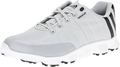 adidas Mens Crossflex Golf ShoeLight GrayBlackWhite10 M US *** Check this awesome product by going to the link at the image. Note:It is Affiliate Link to Amazon.