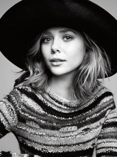didn't know I could like the Olsen's any more than I already do.  and then I met Elizabeth...gorgeous.