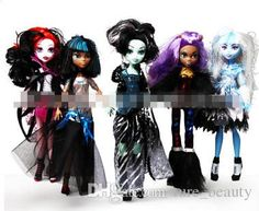 18%off High Quality High School Girl Monster High Schools Bobbi Doll Zombie Girl Figure Girls Toy Figure5 People Money/Wd From Ture_beauty, $14.16 | Dhgate.Com