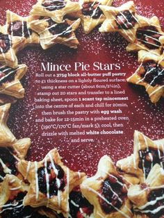 Mary Berry's mince pies are sure to be a hit this Christmas Christmas Party Food, Xmas Food, Christmas Cooking, Christmas Desserts, Christmas Treats, Christmas Mince Pies, Christmas Canapes, Minced Meat Recipe, Mince Meat