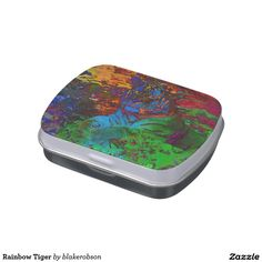 Rainbow Tiger Jelly Belly Tin