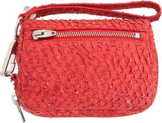 #handbag made of fish leather (perch) | Design by #AlexanderWang