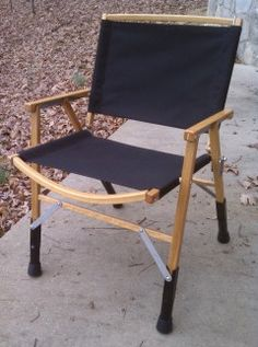 Kermit Chair Company | The Original Touring Chair Typically a motocamper pick. But I love the craftsmanship. Can attached tenders or use as a low ride chair. Think I will eventually add on to the car camping arsenal.