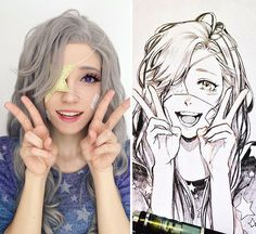 "HOW TO GIVE ZU INSTANT ART✨ . cosplayed my OC Star to perfection ✨and I am at a lost at how beautiful this is! I screamed when I saw it //"" I'm so glad no one was around to hear it thank you so my dear! Cartoon Kunst, Anime Kunst, Cartoon Drawings, Cartoon Art, Drawing Sketches, Anime Art, Art Drawings, Otaku, Portrait Cartoon"