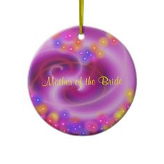 #Mother of the bride #wedding ornament