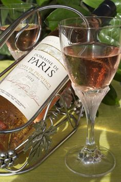 "French wine ""Domaine de Paris"" AOP Cotes de Provence, ""Vins Breban""."