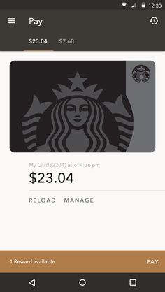 Starbucks® app for Android®