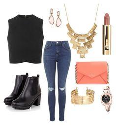 "Pinterest: @mayabarefield  ""Easy everyday look"" by mayanicole21 on Polyvore"