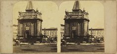 Henrique Revert Klumb. La Fontaine du Largo do Paço. c. 1870. Rio de Janeiro. Brasiliana Fotográfica