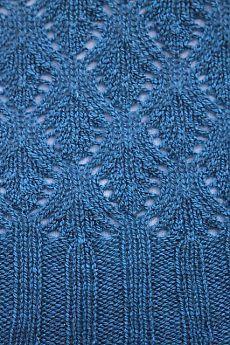 Ravelry: Hanna T-Shirt pattern by Windy Valley Muskox - Knitting 2019 - 2020 Lace Knitting Stitches, Lace Knitting Patterns, Knitting Charts, Lace Patterns, Stitch Patterns, Stitch Shirt, How To Purl Knit, Crochet Yarn, Pulls