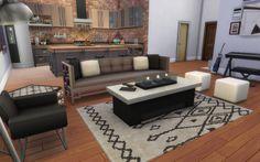 Living room - Industrial Loft   19 Culpepper House, Spice Market   San Myshuno.
