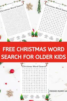 Christmas Tunes, Christmas Words, Kids Christmas, Handmade Christmas, Xmas, Christmas Activities For Kids, Crafts For Kids, Christmas Word Search Printable, Homeschool Curriculum Reviews