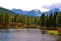 Sprague Lake in Rocky Mountain National Park This is where I'll become Mrs. Lopez!