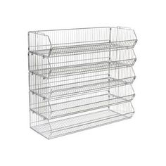 Stackable Wire Storage Bin Rack, x x 5 Wire Bins Toy Storage Bins, Wire Storage, Storage Baskets, Stacking Bins, Stackable Bins, Shoe Containers, Diy Storage Projects, Living Room Entertainment Center, Wire Baskets