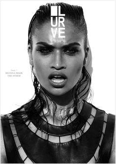 Shanina Shaik for Lurve Magazine