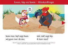 Spel: Oefen de klinkers met KlinkerBingo. De uitleg van het spel en de benodigde afbeeldingen  vindt u in de handleiding.    Boekje 3 Haan schiet mis is als gratis Android app beschikbaar. Het bevat een leesboekje AVI M3. Ook geschikt om voor te lezen aan kleuters.