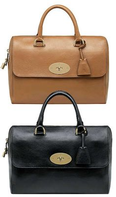 Mulberry Del Ray Bag in Deer Brown or Black This new bag from Mulberry, the Mulberry Del Ray, is named after and inspired by the singer Lana Del Rey, from her references to glamour from a bygone ag…