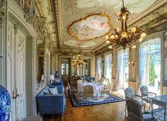 Interior do Hotel Pestana cinco estrelas proprietários do Palácio do Freixo  no Porto