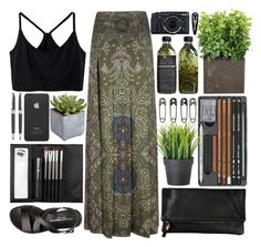 """✿ Dark Paradise ✿"" by sophjh20 ❤ liked on Polyvore featuring Othermix, Yves Saint Laurent, Sephora Collection, Pier 1 Imports, Incase, Clare V., Wild & Wolf and Clips"
