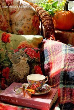 Aiken House & Gardens: A Cosy Autumn Tea Autumn Tea, Autumn Leaves, Autumn Cozy, Autumn Harvest, Autumn Fall, Autumn House, Early Autumn, Autumn Coffee, Autumn Garden