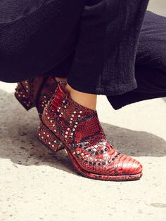 Chasing Cowboys Ankle Boot from Free People!