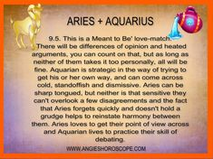 Aries man attracted to aquarius woman