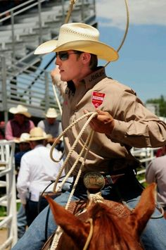 Tuff Cooper Youngest Million Dollar Earning Cowboy !!!! (:/....Good for him! He must have been smart about what he did with his winnings.