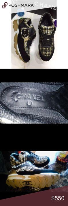 Chanel Brown Tennis Shoes. Size: 38( 8 ). Chanel Brown Tennis Shoes. Authentic. From Italy. New, no box. I have one pair this size. CHANEL Shoes Sneakers