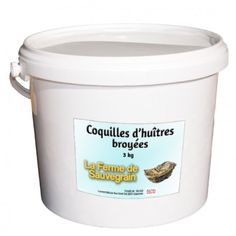 Carbonate De Calcium, Rice Cooker, Coffee Cans, Kitchen Appliances, Canning, Important, France, Oyster Shells, Food Waste