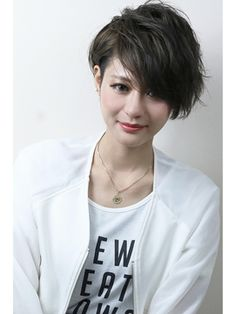 VILLA【ヴィラ】 さっぱり美フォルムなベリーショート Cute Hairstyles For Short Hair, Short Hair Cuts For Women, Girl Short Hair, Short Hair Styles, Ulzzang Hair, Shoulder Hair, Asian Hair, About Hair, Great Hair