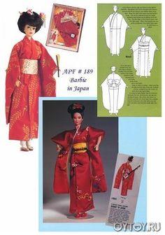 Kimono for Barbie