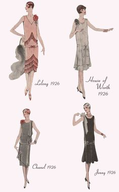 Fashion Four Paris Evening Dresses 1926 - Chanel Dresses - Trending Chanel. - Fashion Four Paris Evening Dresses 1926 – Chanel Dresses – Trending Chanel Dress for sales – Source by elsadewinter - 1920s Fashion Women, Vintage Fashion, Womens Fashion, 1920s Fashion Dresses, Victorian Fashion, 1920s Inspired Fashion, Gothic Fashion, Moda Vintage, Vintage Mode