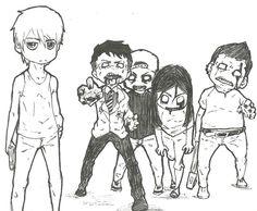 anime zombies - Hľadať Googlom