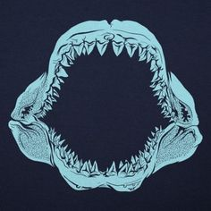 Mouth Of The Megalodon T-Shirt by 6 Dollar Shirts. Thousands of designs available for men, women, and kids on tees, hoodies, and tank tops.