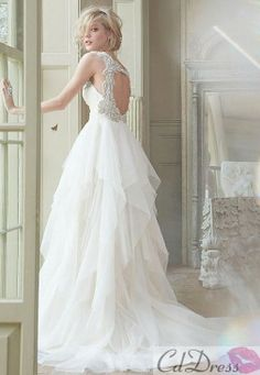 The bottom half of this dress is gorgeous!