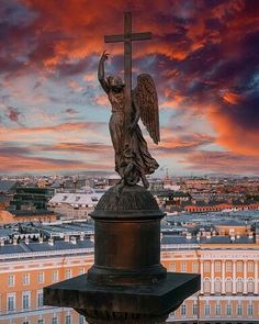Beautiful Wallpaper Photo, Russian Winter, Angel Sculpture, St Petersburg Russia, Angels Among Us, Catholic Art, Gothic Architecture, Beautiful Places In The World, St Michael