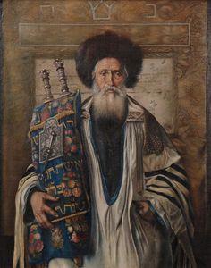 Isidor Kaufmann (Austrian-Jewish b. Hungary, 1853-1921)