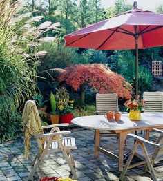 Fall Garden Retreats