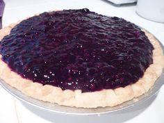 Kimmy's Kitchen: Blackberry Cream Pie