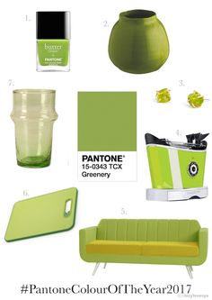 Pantone Colour of the Year for 2017. Greenery. What are your thoughts on this shade?