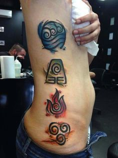 Avatar tattoos